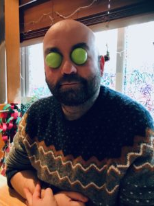 Rob Neith Nicholson, Artist with a rare eye condition.