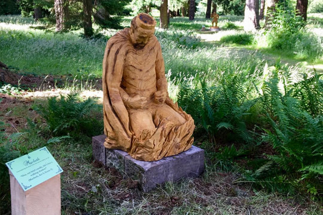 Macbeth Carving